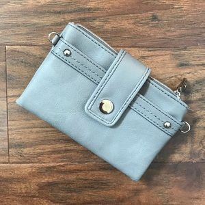 Relic Small Grey Wallet